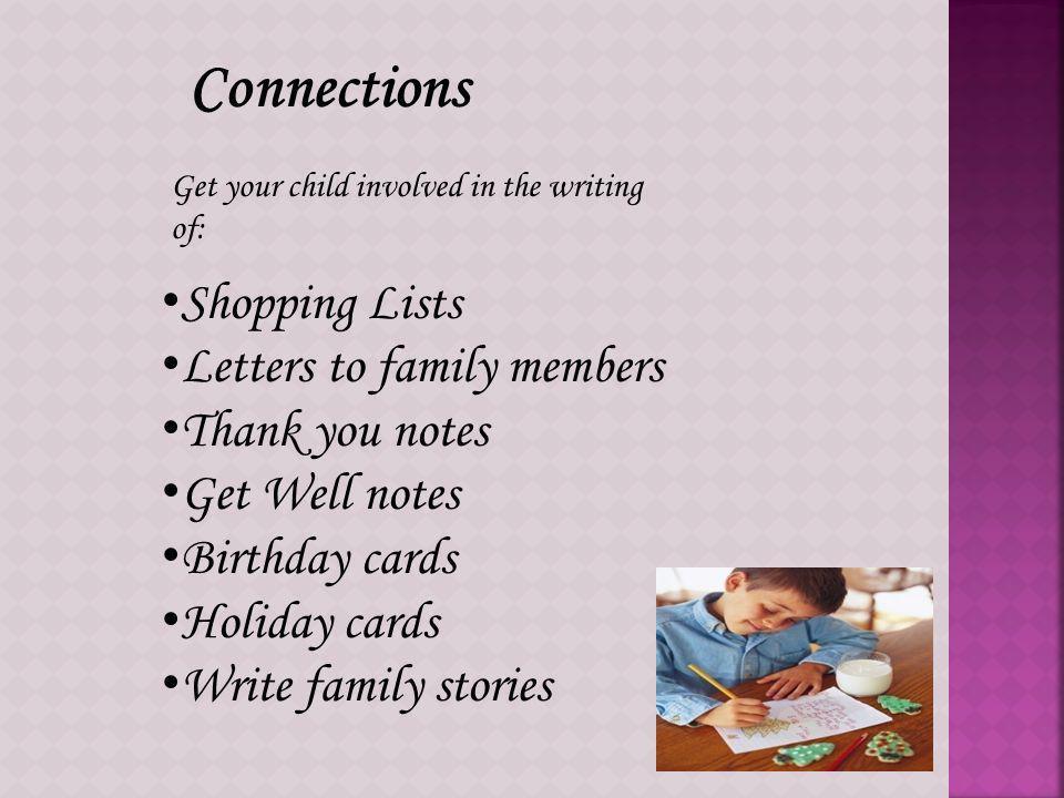 Conversation Children who enjoy storytelling, reading and conversation will enjoy writing.