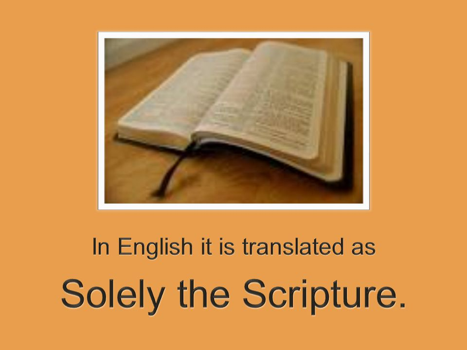 Therefore, it becomes our personal and individual responsibility to search the scriptures.