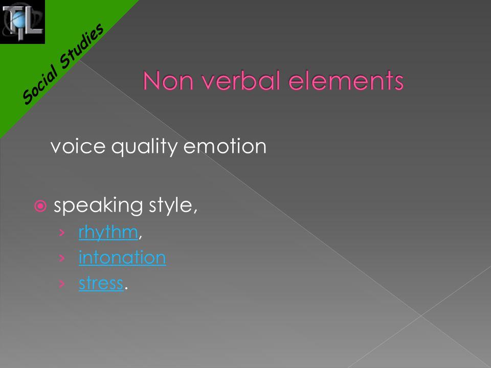 voice quality emotion  speaking style, › rhythm,rhythm › intonationintonation › stress.stress Social Studies