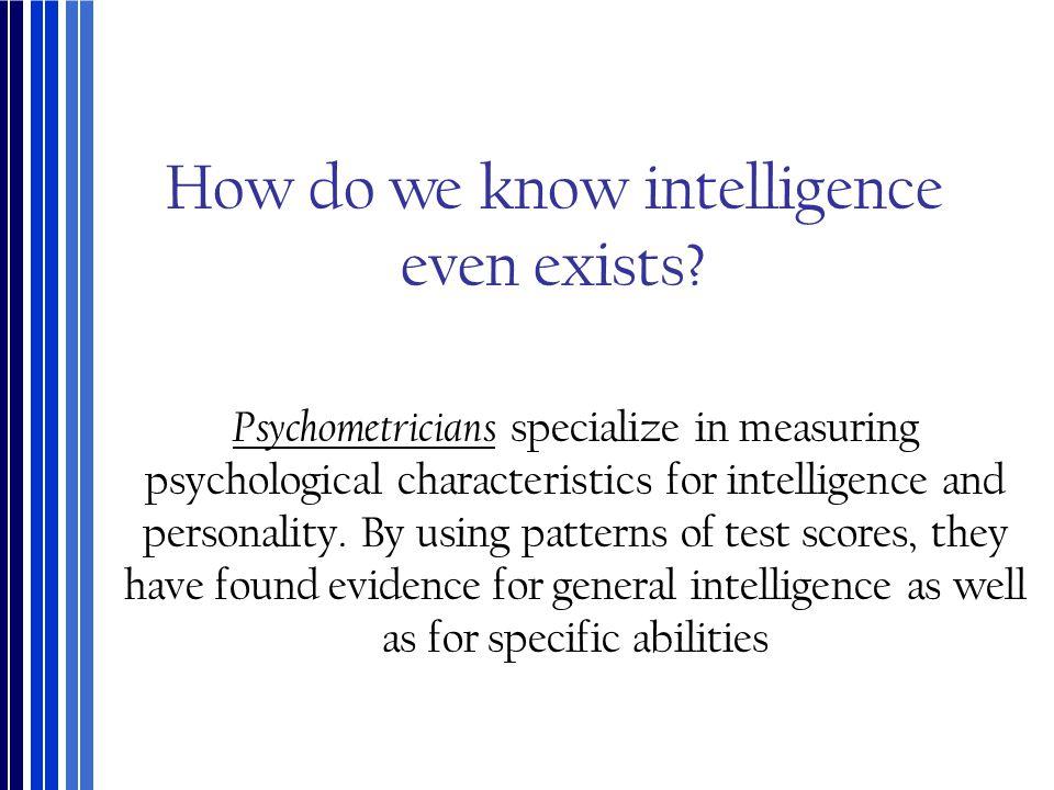 What Do These Intelligences Examine.
