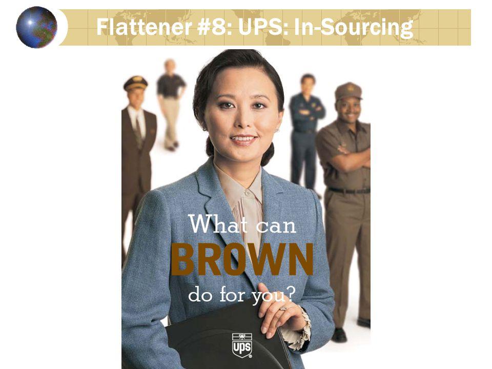 Flattener #8: UPS: In-Sourcing