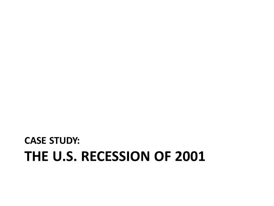 CASE STUDY: THE U.S. RECESSION OF 2001