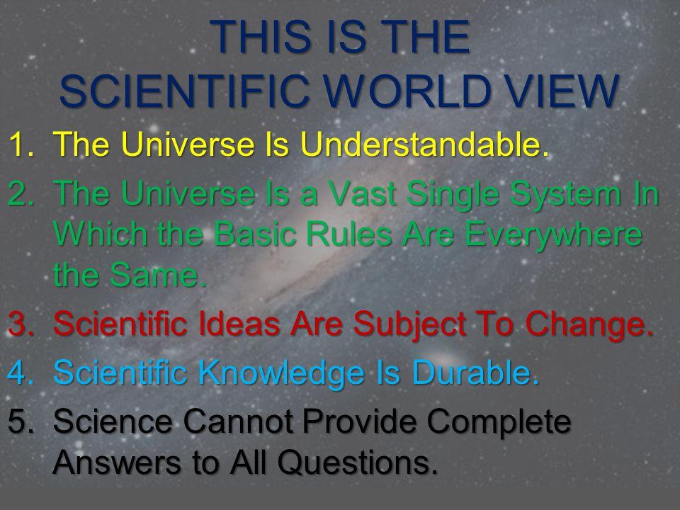 SCIENCE IS SELF CORRECTING AND PROGRESSIVE SF Author Sir Arthur C.