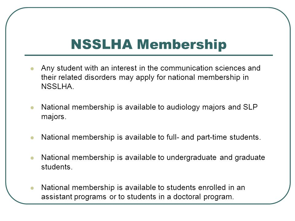 NSSLHA's By the Numbers There are over 12,000 members in NSSLHA.
