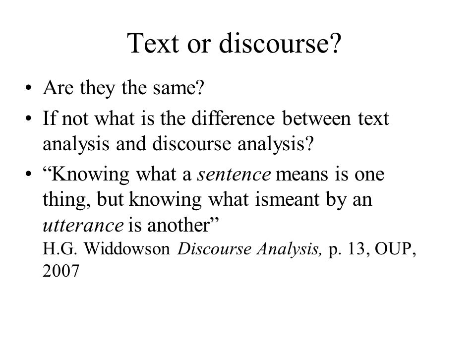 Text and sentences Are all texts organised in sentences.
