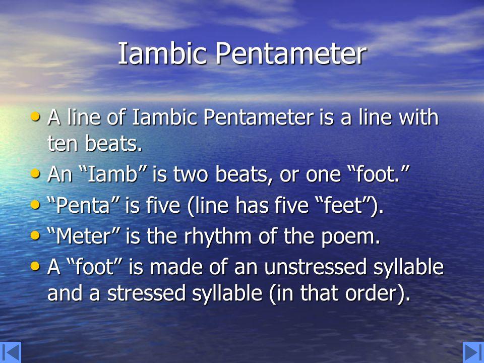 Sonnet Form A sonnet has 14 lines. A sonnet has 14 lines.