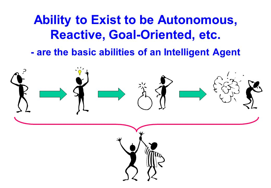 q Autonomous agents are computational systems that inhabit some complex dynamic environment, sense and act autonomously in this environment, and by doing so realize a set of goals or tasks for which they are designed. Pattie Maes Agent Definition (4)