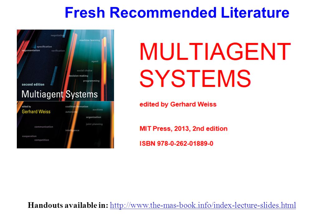 Examples of agents qControl systems le.g.Thermostat qSoftware daemons le.g.