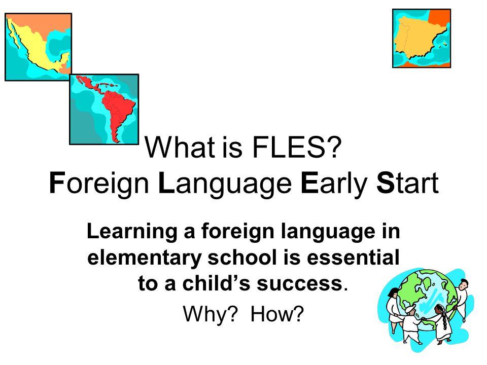 Interdisciplinary FLES Instruction