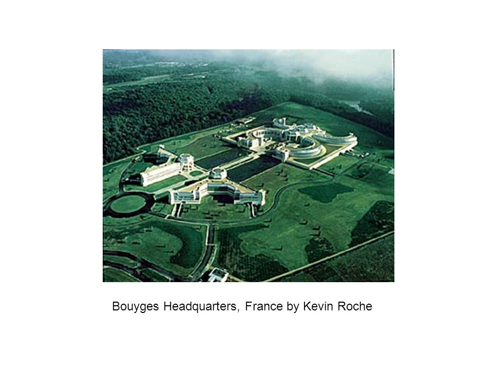 Bouyges Headquarters, France by Kevin Roche