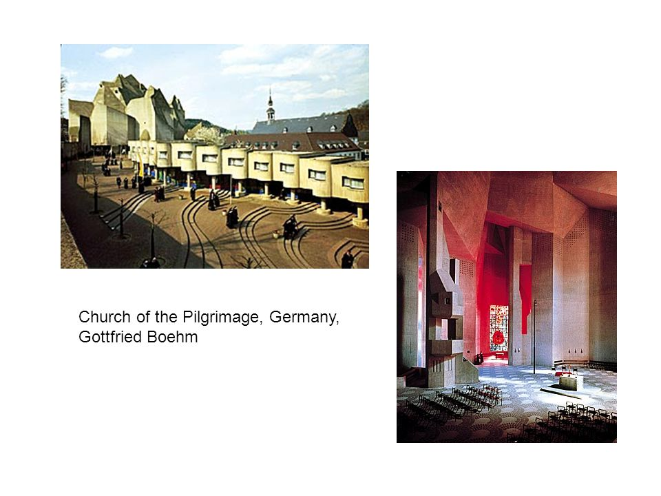 Church of the Pilgrimage, Germany, Gottfried Boehm