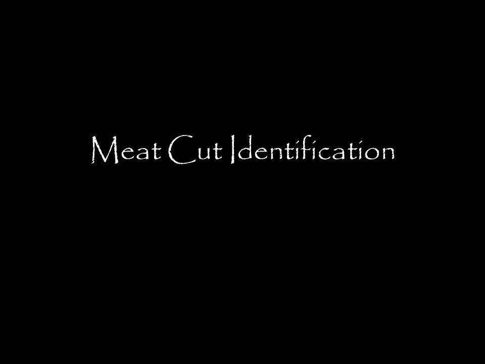 Meat Cut Identification