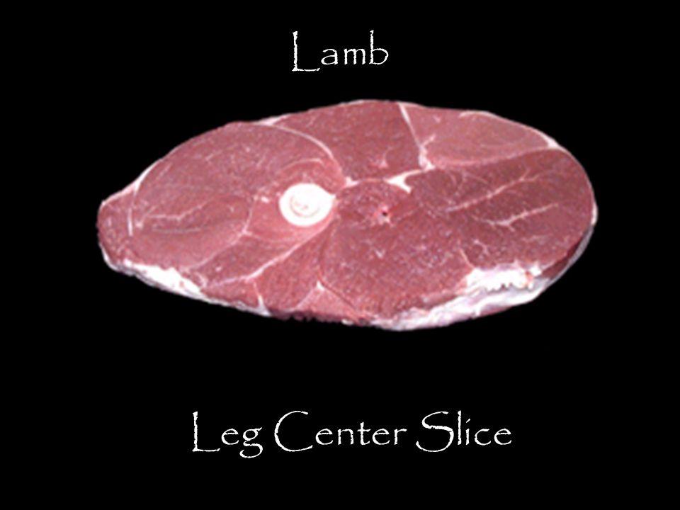 Lamb Leg Center Slice