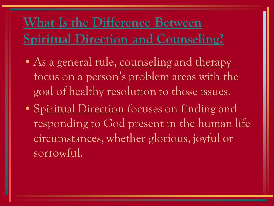 How Can I Find a Good Spiritual Director.