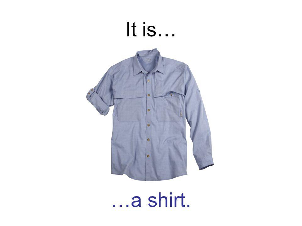 It is… …a shirt.