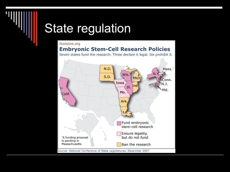 State regulation