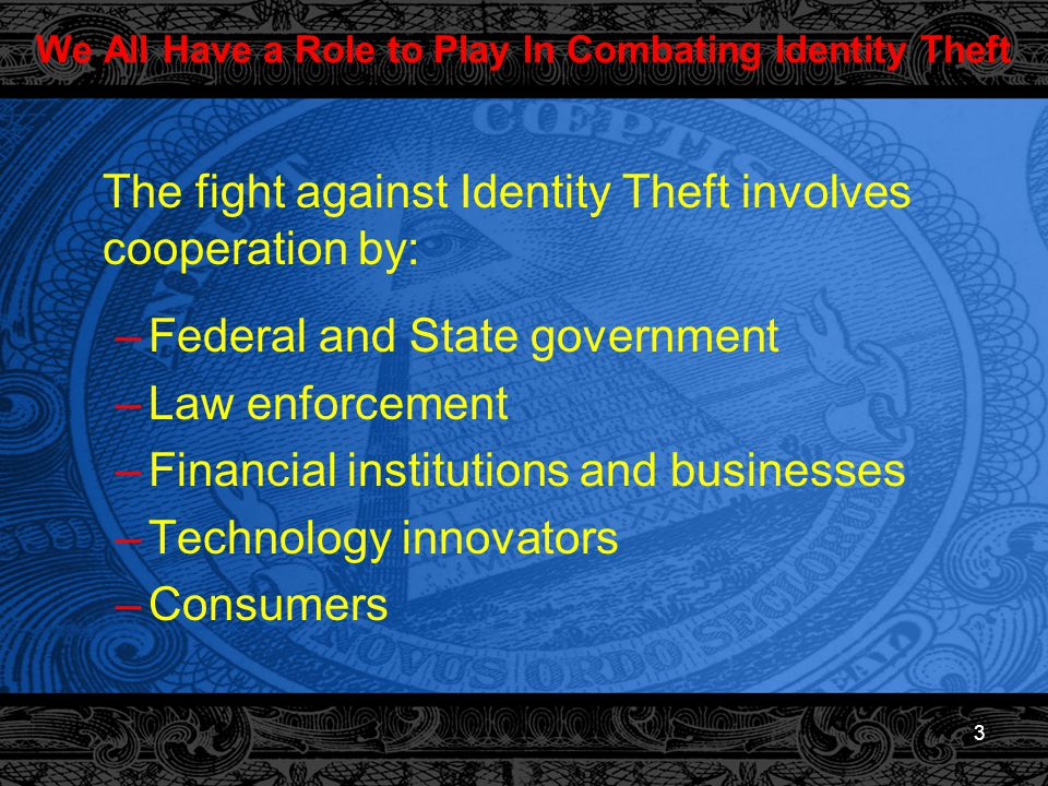 4 What is Identity Theft?