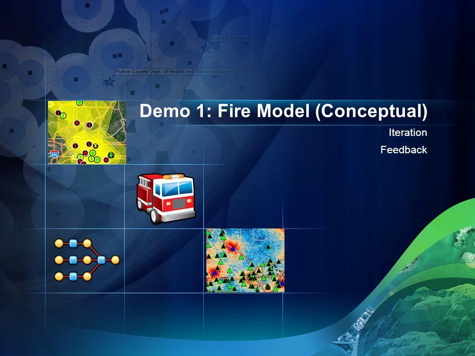 Iteration Feedback Demo 1: Fire Model (Conceptual)