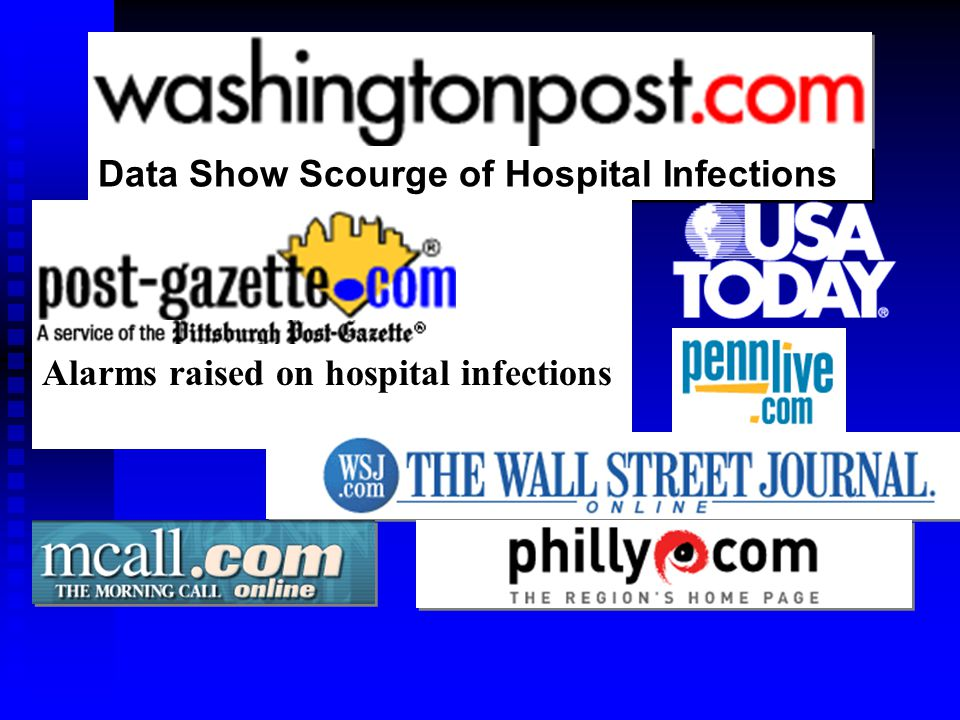 Data Show Scourge of Hospital Infections Alarms raised on hospital infections