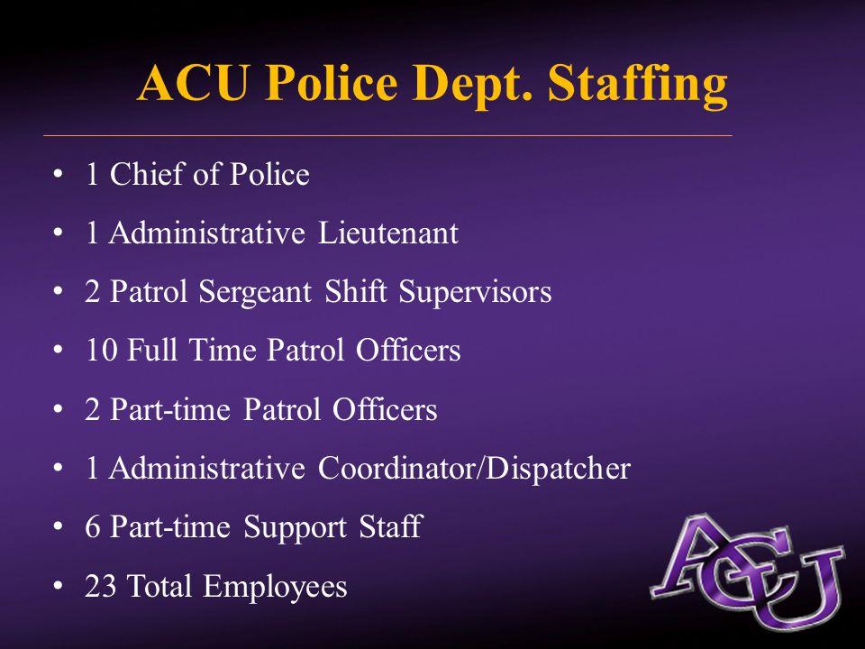 ACU Police Dept.