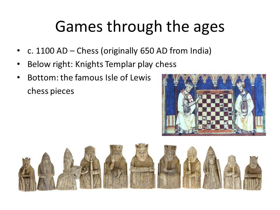 Games & AI Arthur Samuel's Checkers Games (c.1950) at IBM.