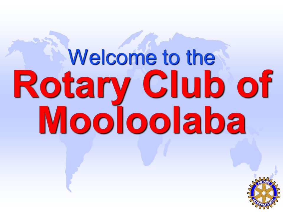 Welcome to the Rotary Club of Mooloolaba