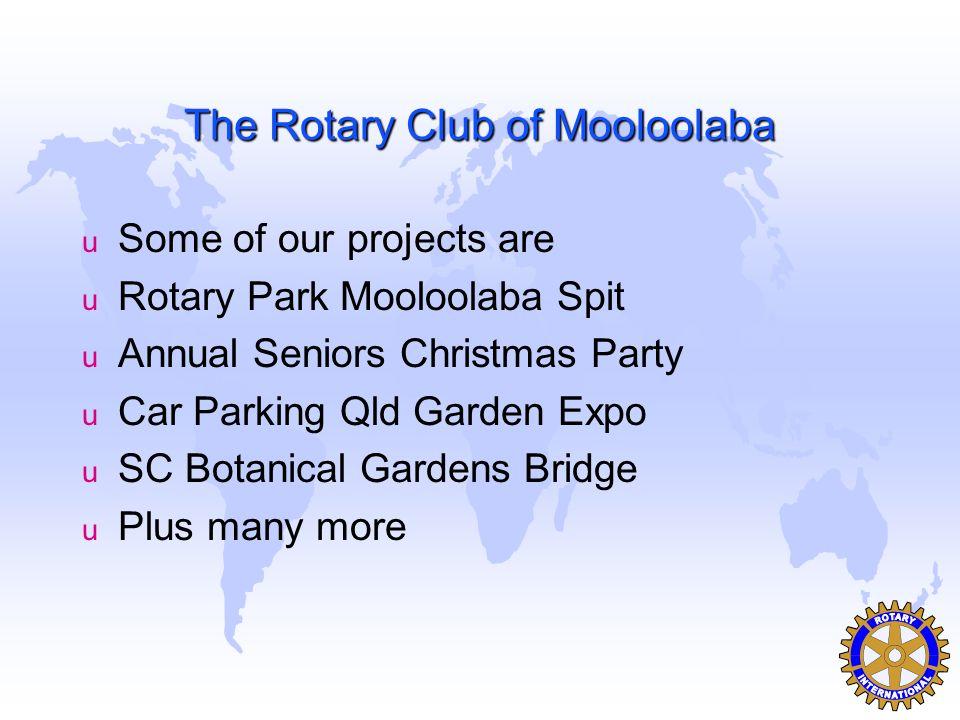 Object of Rotary u Fourth.