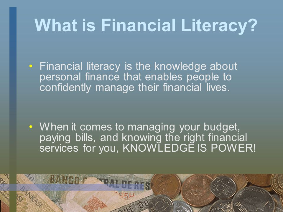 What is Financial Empowerment.