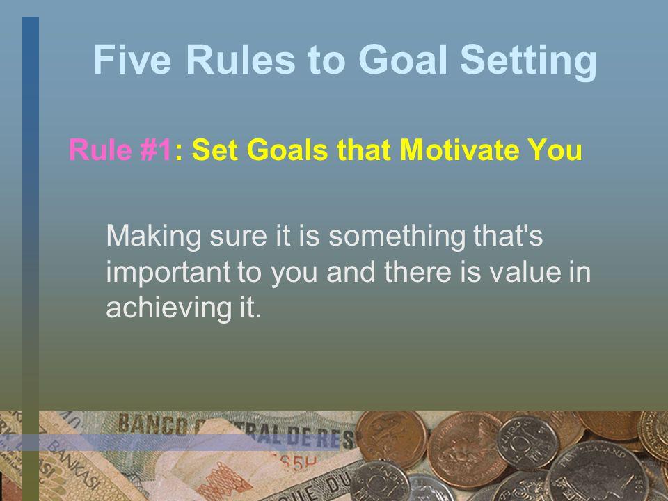Sample Presentation Goal Setting Budgeting Credit