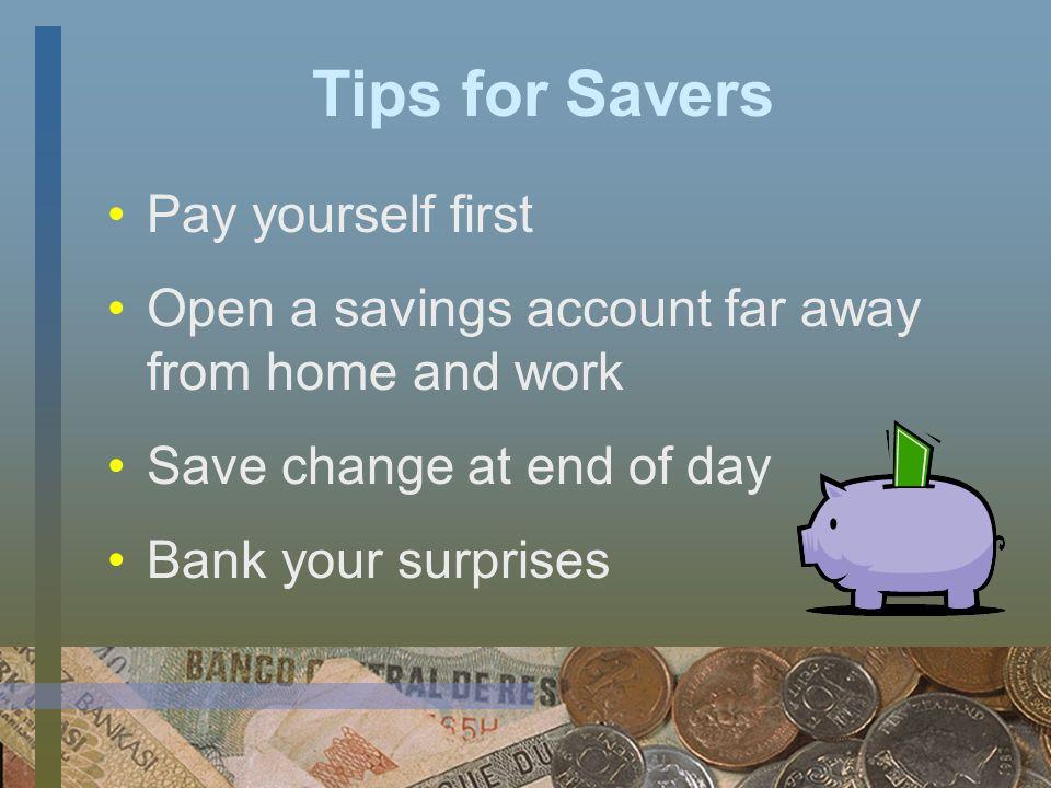 Types of Savings Accounts Regular savings account Club account Certificate of deposit (CD) Money market account Matched savings account