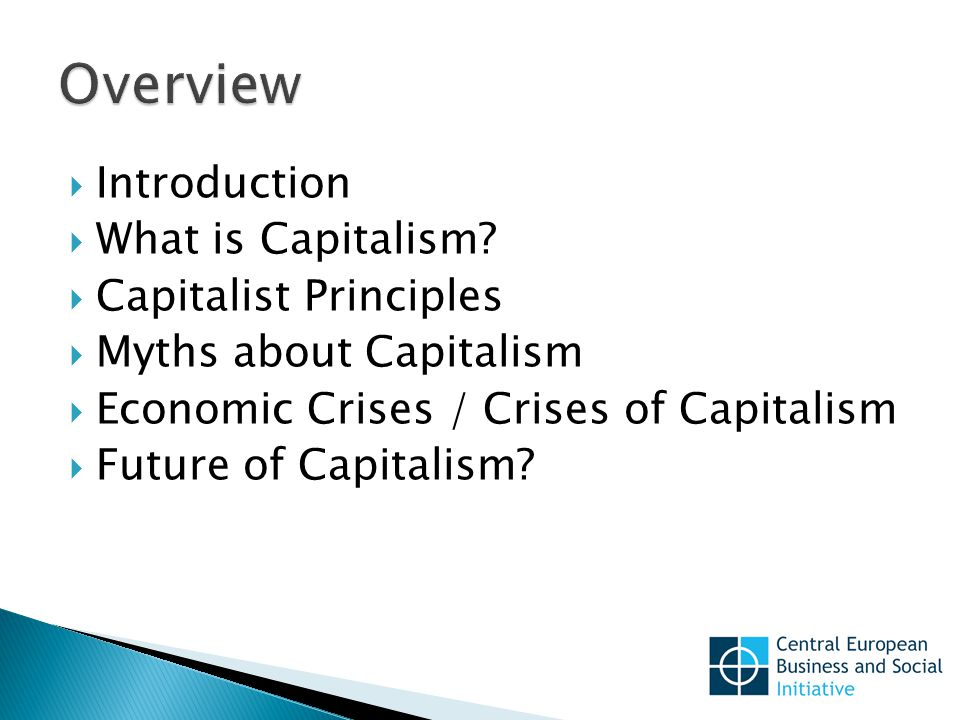  Introduction  What is Capitalism.