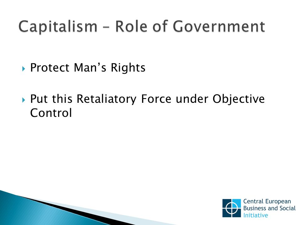  Protect Man's Rights  Put this Retaliatory Force under Objective Control