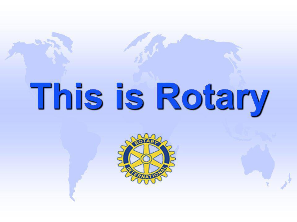 The Rotary Foundation World Peace through Understanding