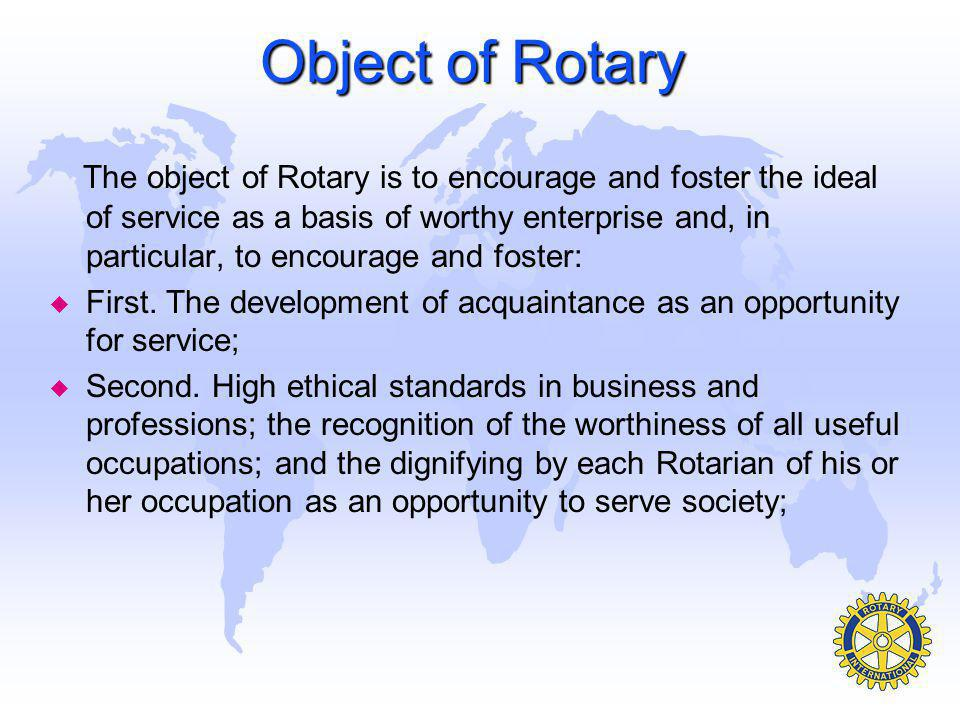 u Rotary Youth Exchange - Clubs and districts send and host students ages 15-19 who travel abroad for cultural exchanges of one week to a full year; about 8,000 a year.