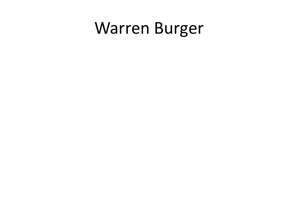 Warren Burger