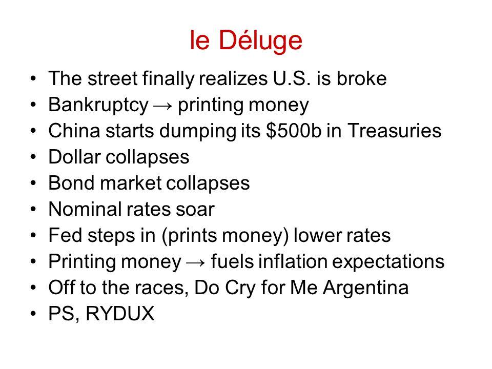 le Déluge The street finally realizes U.S.