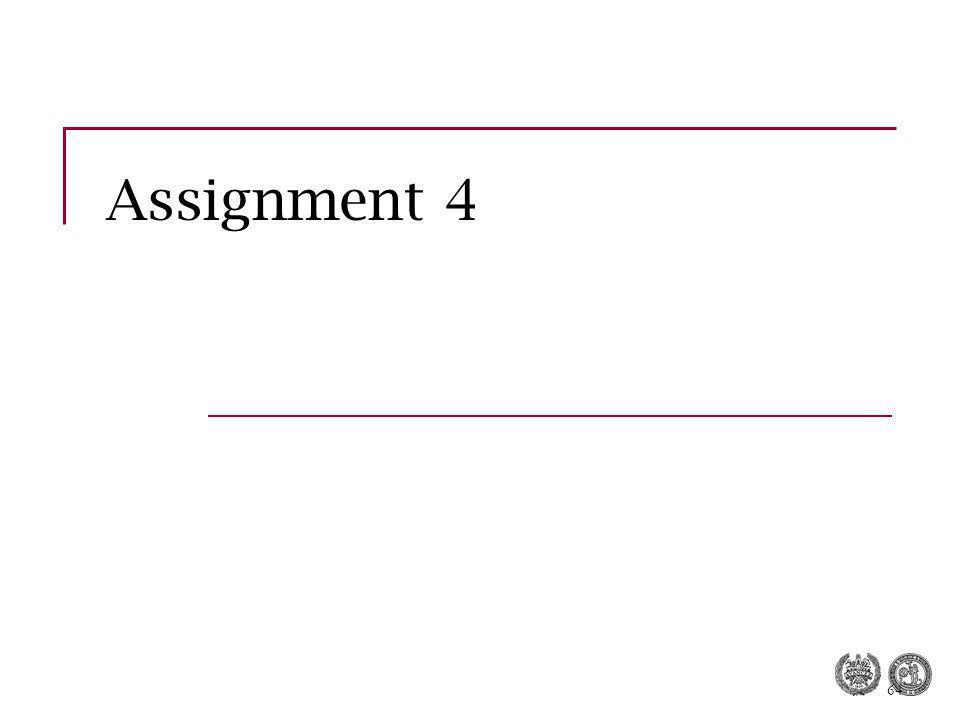 64 Assignment 4