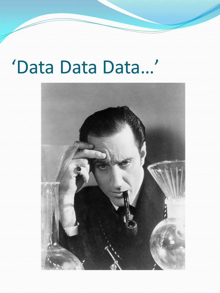 'Data Data Data…'
