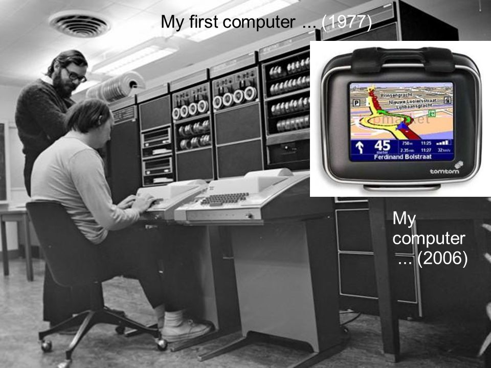 http://creativecommons.org/licenses/by-nc-sa/2.0/nl/ My first computer... (1977) My computer... (2006)