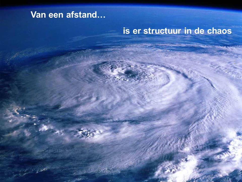 http://creativecommons.org/licenses/by-nc-sa/2.0/nl/ is er structuur in de chaos Van een afstand…