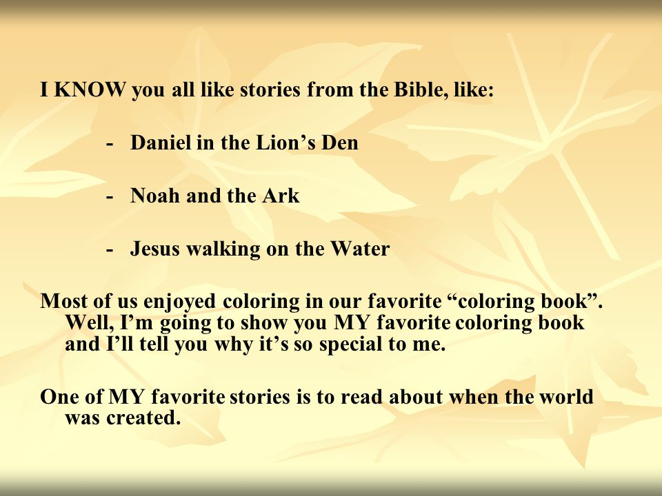 Holy Bible Coloring Book