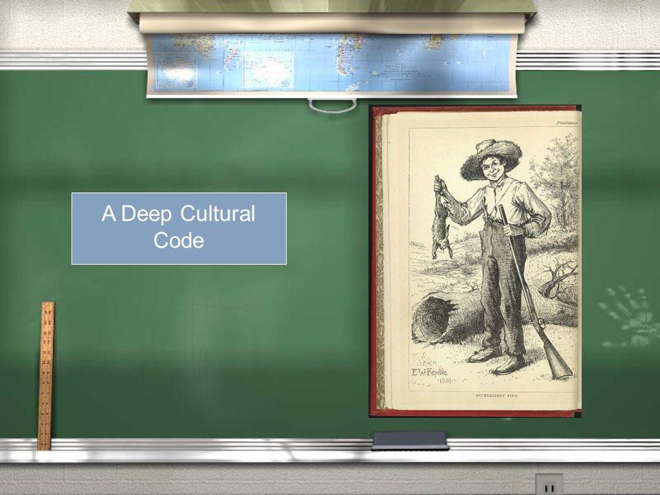 A Deep Code A Deep Cultural Code