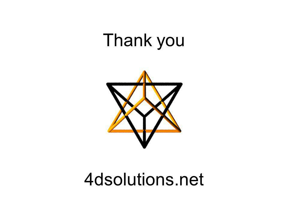 Thank you 4dsolutions.net