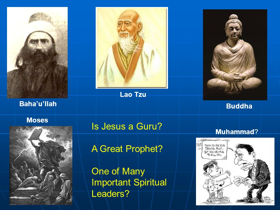 God Islam Buddhis m Mysticism Ba'hai Different Paths to the Same Goal?