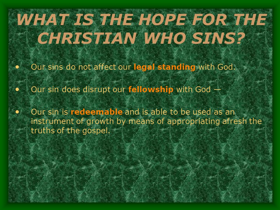 WHAT ABOUT UNBELIEVERS.Unregenerate men remain guilty because of imputed sin.