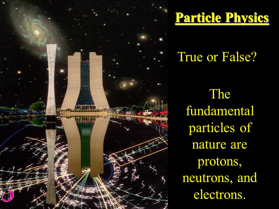 Particle Physics True or False.