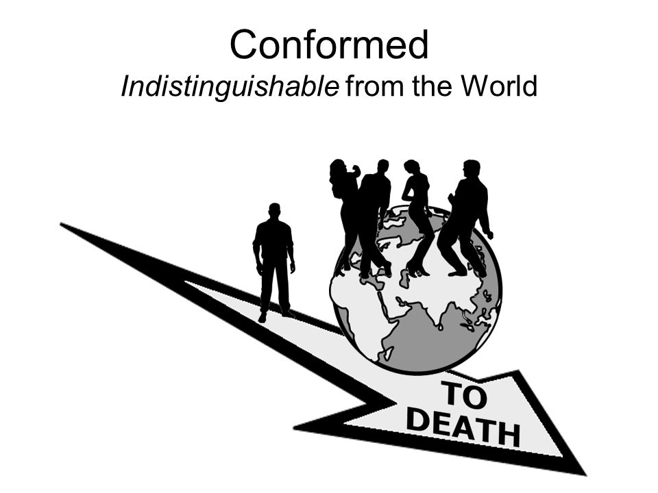 Conformed Indistinguishable from the World