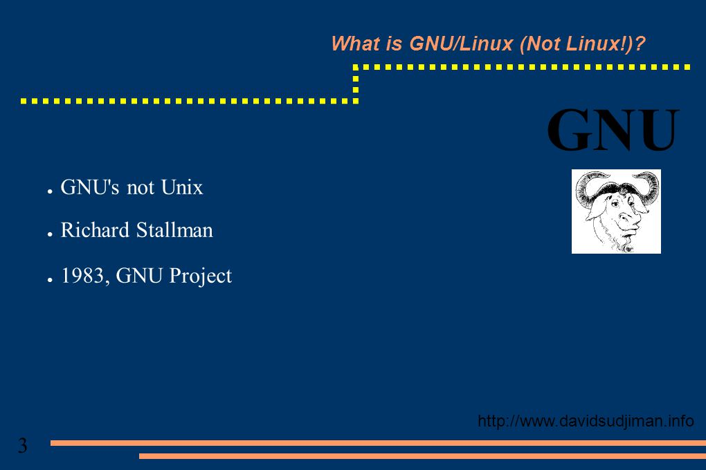 What is GNU/Linux (Not Linux!).