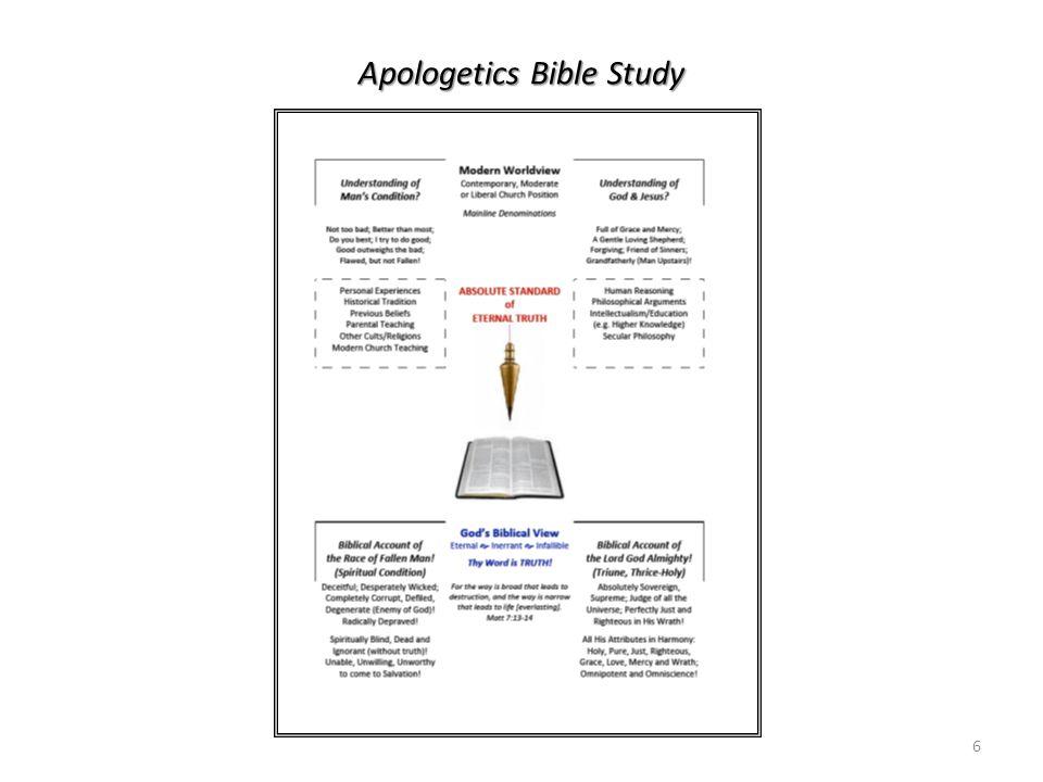 Apologetics Bible Study 6