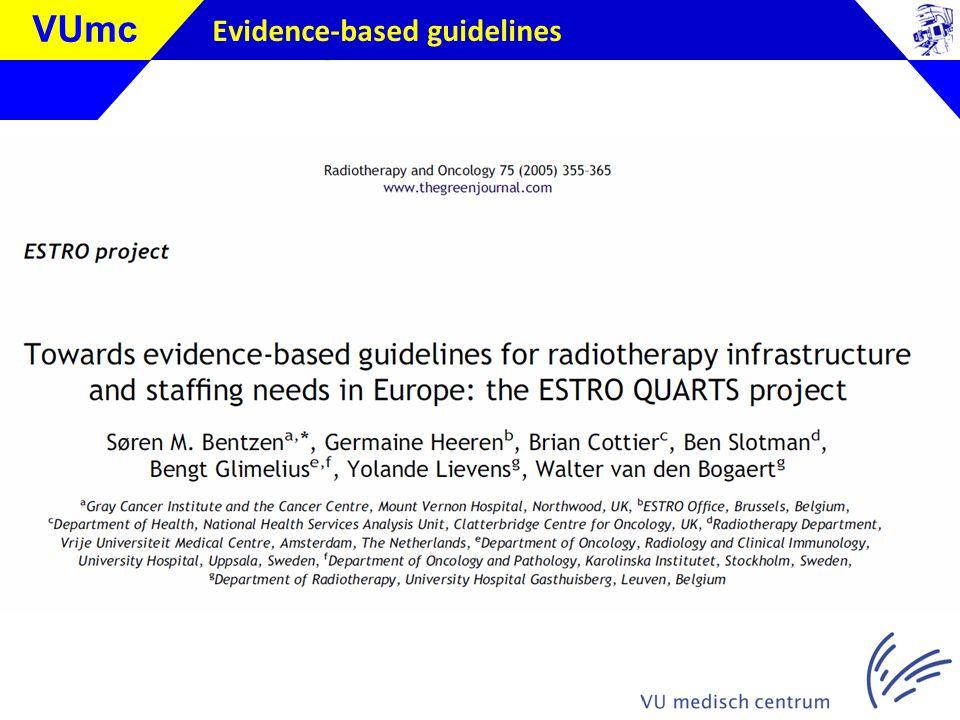 Klik om de stijl te bewerken VUmc Evidence-based guidelines